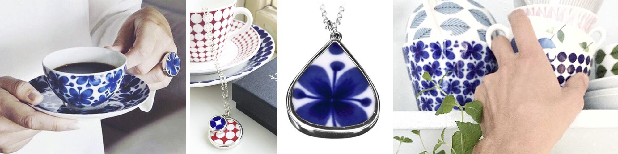 smykker af porcelæn